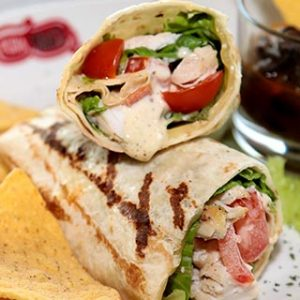 Sandwich Wrap de Pollo